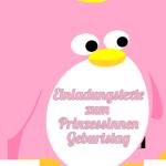 Einladungstext zum Kindergeburtstag als Prinzessin-Party