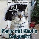 Einladungstext zum Piratengeburtstag
