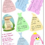 Prinzessin Kindergeburtstagseinladungen kostenlos downloaden